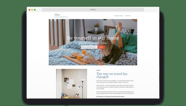 Alkaa Website