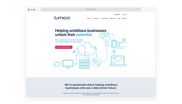 Timico Website