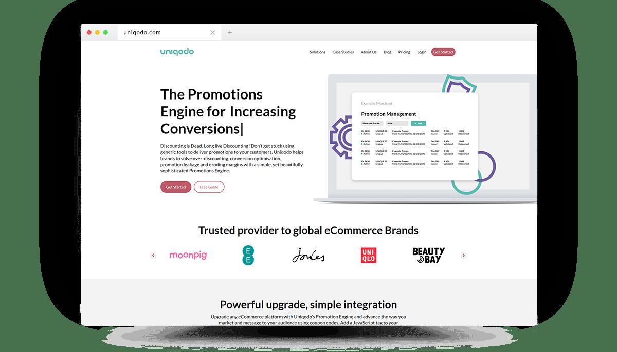 Uniqodo-Homepage