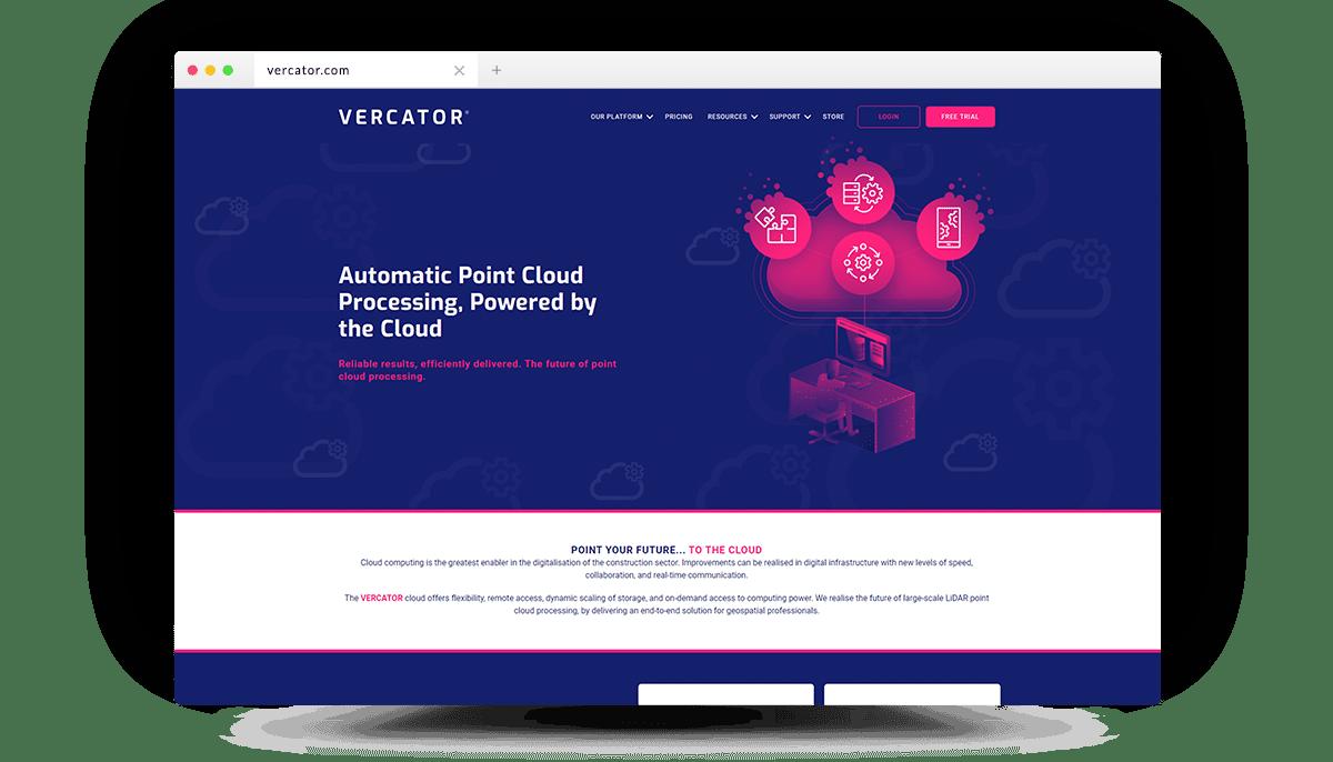 Vercator-Homepage